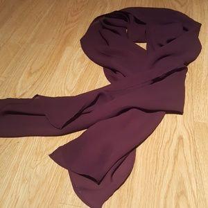 Deep purple scarf